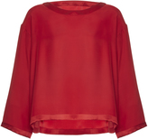 Alexis Mabille Three Quarter Sleeve Blouse