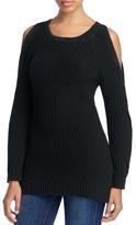 Heather B Cold Shoulder Sweater