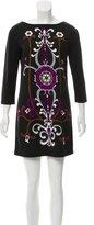 Tibi Woven Printed Dress