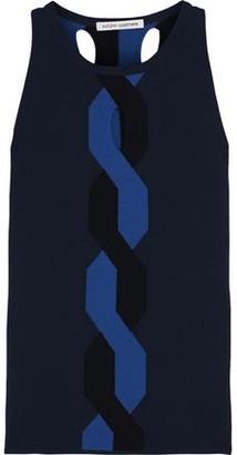 Autumn Cashmere Cutout Stretch-knit Top