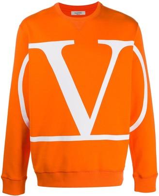 Valentino VLOGO print sweatshirt