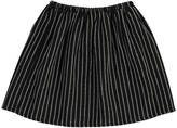 Douuod Striped Linen Condor Skirt