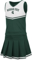 Colosseum Girls Youth Green Michigan State Spartans Pinky Cheer Dress