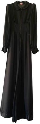 Agent Provocateur Black Silk Jumpsuit for Women