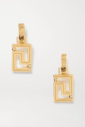 Versace Grecamania Gold-tone Earrings