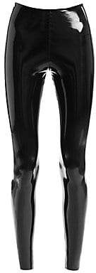 Commando Women's Classic Faux-Patent Leather Leggings