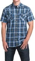 JKL Two-Pocket Plaid Shirt - Short Sleeve (For Men)