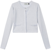 Jean Bourget Silver Cardigan