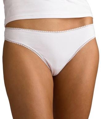 OnGossamer Cabana Cotton Low Rise Hip G Thong