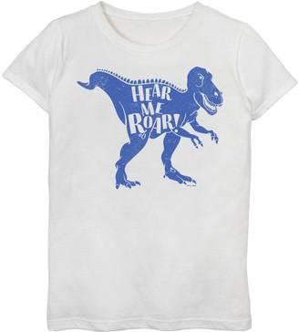 Little Tikes Girls 7-16 Blue Dinosaur Graphic Tee