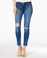 Hudson Krista Ripped Skinny Jeans
