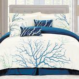 Panama Jack Coral Queen Comforter Set in Blue