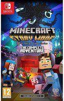Nintendo Minecraft Story Mode: The Complete Adventure Switch