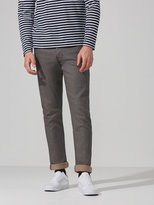 Frank + Oak The Cooper Slim-Straight Selvedge Denim in Grey