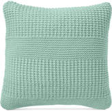 """Charter Club Damask Designs Multi-Knit 20"""" Square Decorative Pillow, Created for Macy's"""