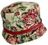 ANTONELLO SERIO Vintage Floral Hat