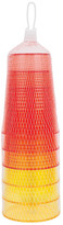 Sunnylife Blazing Yellow/Hot Coral Party Cup - Set of 6