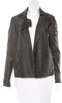 Alexander Wang Distressed Leather Jacket