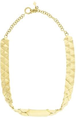 Cadar 18kt Yellow Gold Mini Python Choker Necklace