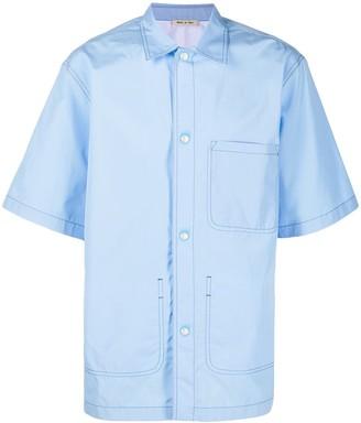 Marni Contrast-Stitch Shirt