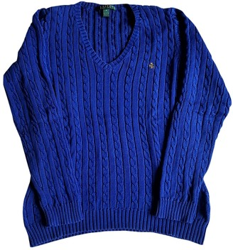 Lauren Ralph Lauren Blue Cotton Knitwear for Women