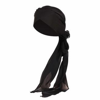 Kalorywee Womens Turban Hats KaloryWee Chemo Turban Hat for Cancer Women Headwear Headwrap Scarfs Cap Womens Caps Hats Sale Clearance Gray