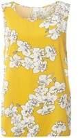 Dorothy Perkins Womens **Vila Yellow Floral Print Shell Top