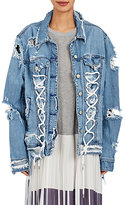 Public School Women's Gwenda Distressed Denim Jacket
