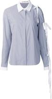 Sandy Liang Pinstripe Button Down Shirt