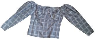 Gina Grey Cotton Top for Women