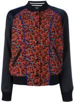 Coach floral print bomber jacket