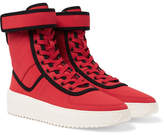 Fear Of God Military Nylon High-top Sneakers - Red