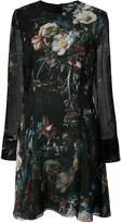 ADAM by Adam Lippes floral print sheer dress