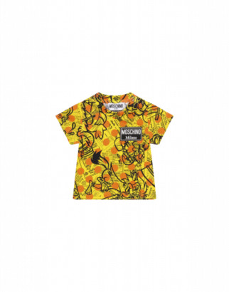 Moschino Yellow Pages T-shirt