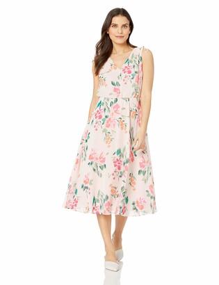 Jessica Howard JessicaHoward Women's Petite Sleeveless Blouson Dress