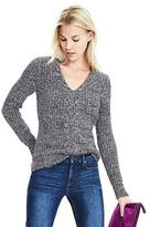 Banana Republic Marled Cable-Knit Pullover Sweater