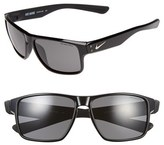 Nike Women's 'Mavrk' 59Mm Sunglasses - Black/ Matte Black