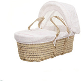 O Baby Obaby Hello Little One Moses Basket - Pink