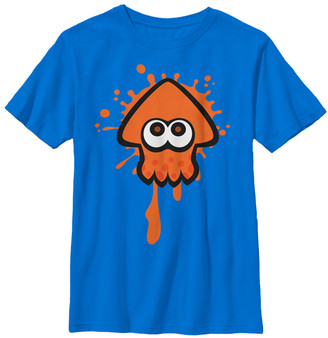 Fifth Sun Boys' Tee Shirts ROYAL - Splatoon Orange Squid Tee - Boys