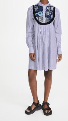 MSGM Shirtdress with Bib