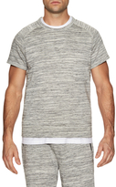 Shades of Grey by Micah Cohen Muscle Sleeve Crewneck Sweatshirt