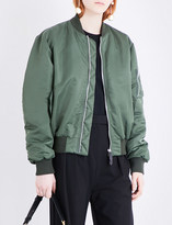 J.W.Anderson Satin bomber jacket