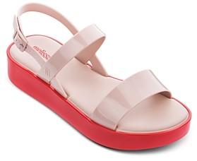 Melissa Women's Strappy Slingback Platform Sandals