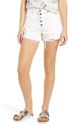 Blank NYC High Waist Cutoff Shorts