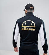 Ellesse Track Jacket With Metallic Back Logo