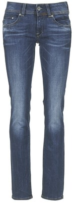 G Star Women's Midge Saddle Mid Straight Jeans in Yzzi Stretch Denim
