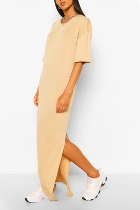 boohoo Tall Scoop Neck Maxi T-Shirt Dress
