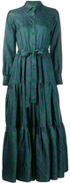 Thumbnail for your product : La DoubleJ Abstract Print Shirt Dress