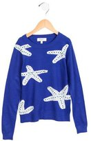 Milly Minis Girls' Intarsia Sweater