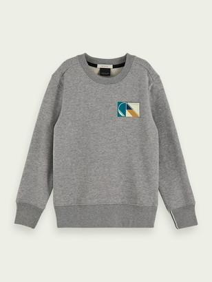 Scotch & Soda Branded long sleeve sweatshirt | Boys